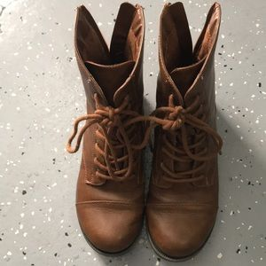 Other - Brown boots kids size 2